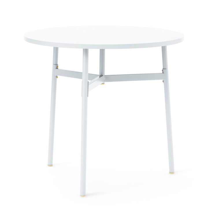 Normann Copenhagen - Union Bar Table, Ø 80 x H 74.5 cm, white