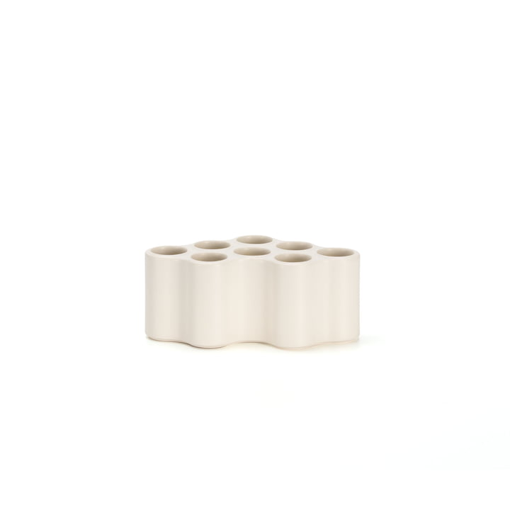 The Vitra - Nuage céramique vase, S in white