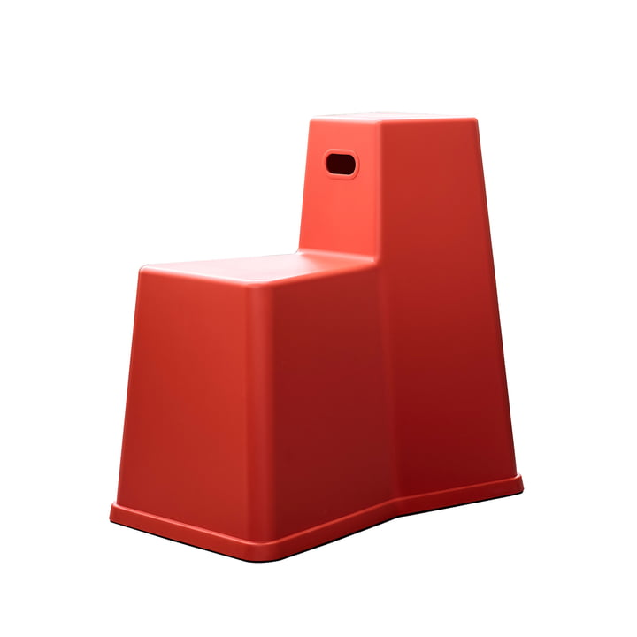 The Vitra - Stool Tool in Poppy Red