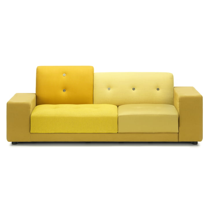 The Vitra - Polder Compact sofa in golden yellow