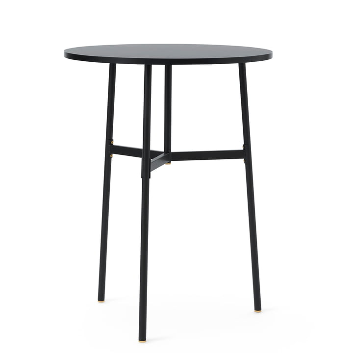 Normann Copenhagen - Union Bar Table, Ø 80 x H 105.5 cm, black