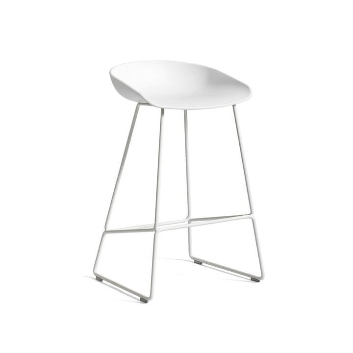 Hay - About A Stool AAS 38 Bar stool H 76, white