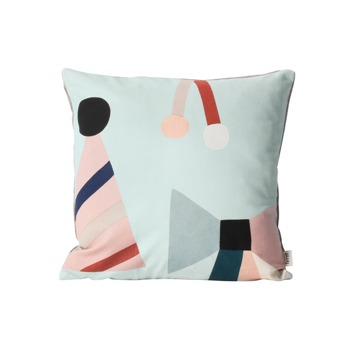ferm living - Party Cushion, mint