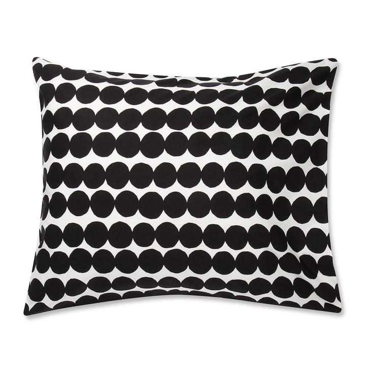 The Marimekko - Räsymatto pillowcase 80 x 80 cm in black / white