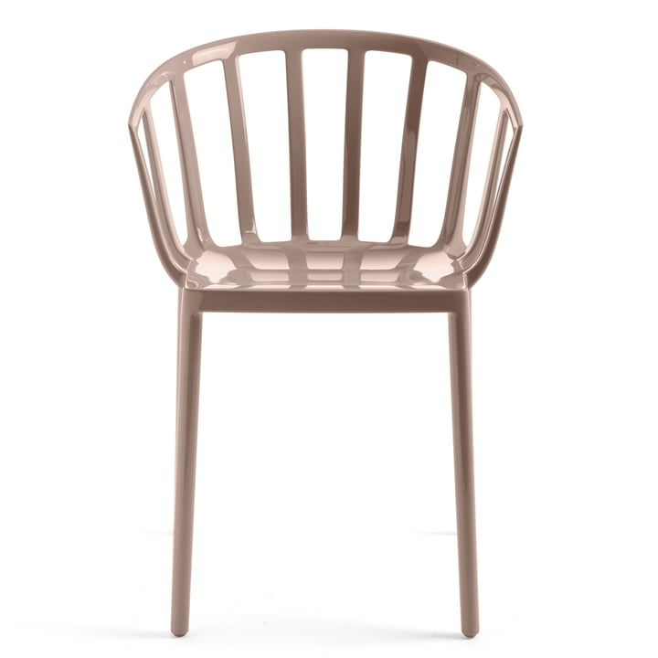 The Kartell - Venice chair in taupe