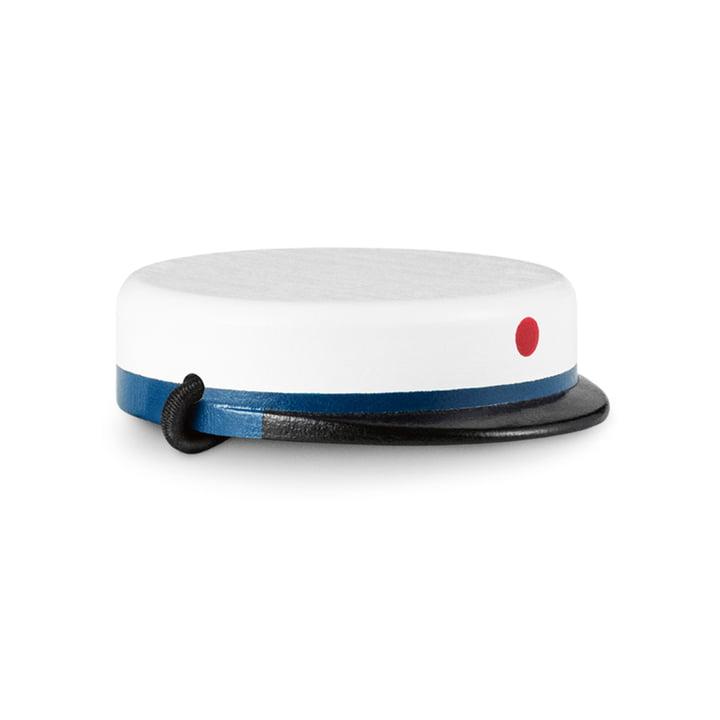 Kay Bojesen - graduation cap for the little monkey, black / white / blue