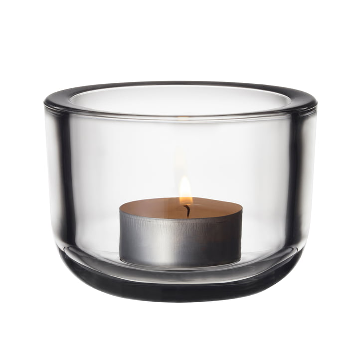 The Iittala - Valkea Tealight Holders 60 mm, clear