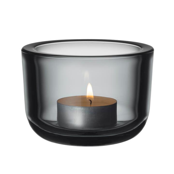 The Iittala - Valkea tea light holder 60 mm, grey