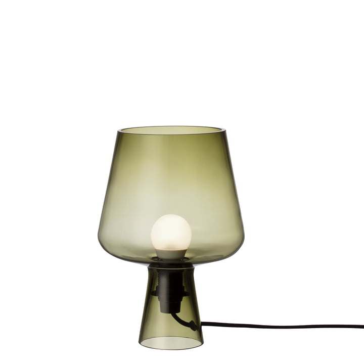 The Iittala - Leimu lamp, Ø 16,5 x H 24 cm, moss green