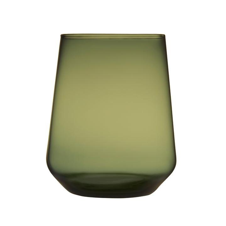 The Iittala - Essence water glass 35 cl, moss green