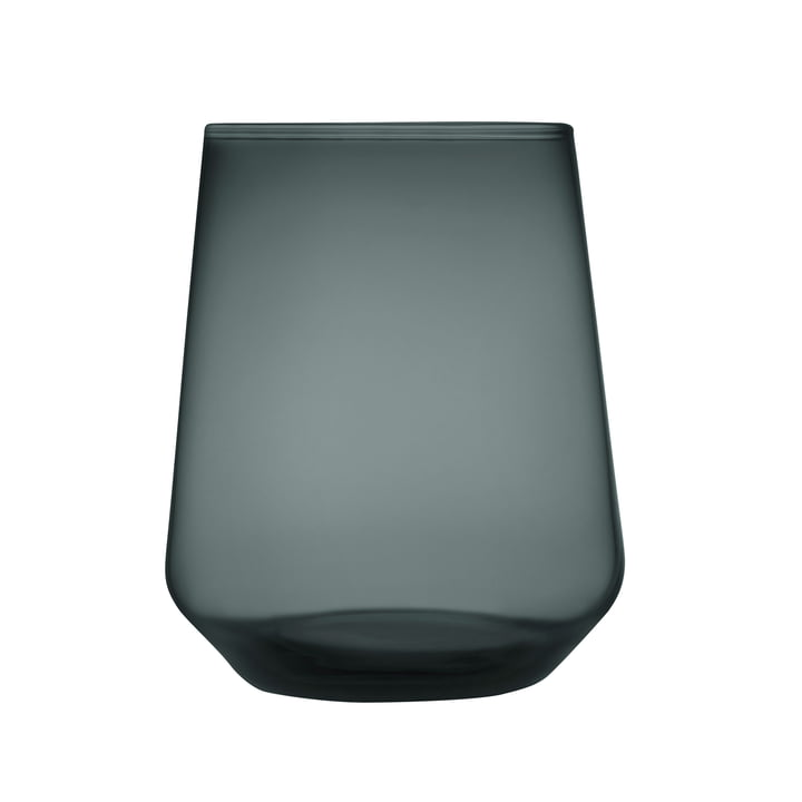The Iittala - Essence water glass 35 cl, dark grey