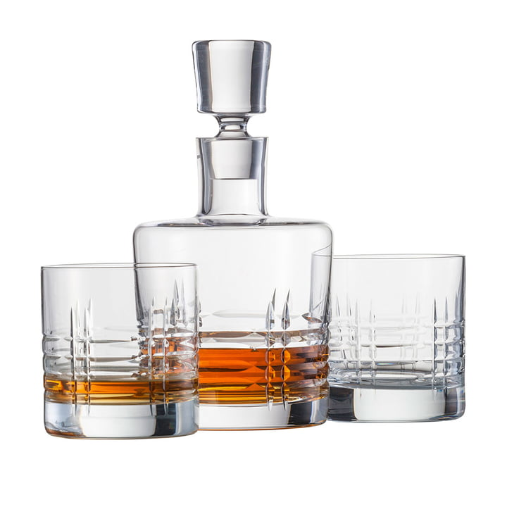 The Schott Zwiesel - Basic Bar Classic, Whiskey Set (2 glasses + 1 decanter)