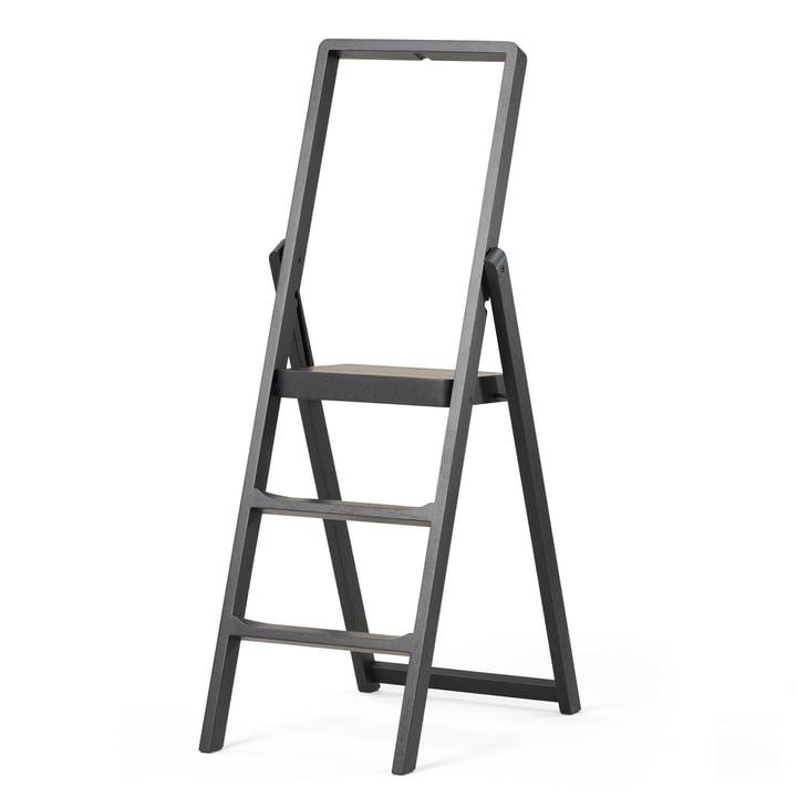The Design House Stockholm - Step Folding ladder in black stained oak