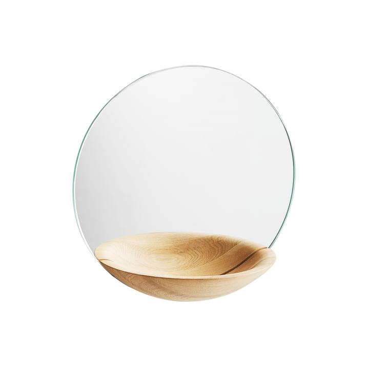 The Woud - Pocket Wall mirror small, oak