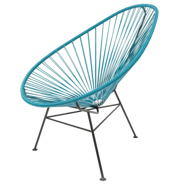 Acapulco Design - Acapulco Classic Chair, petrol blue / black