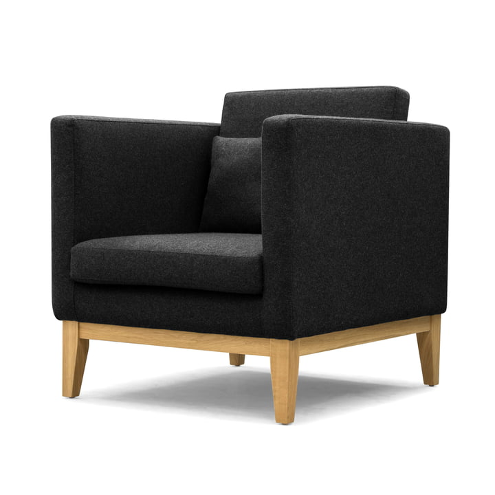 The Design House Stockholm - Day Dream Armchair in Dark Grey