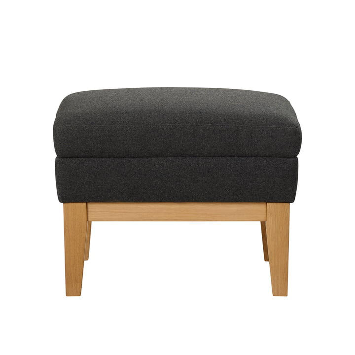 Design House Stockholm - Day Dream Footstool in Dark Grey