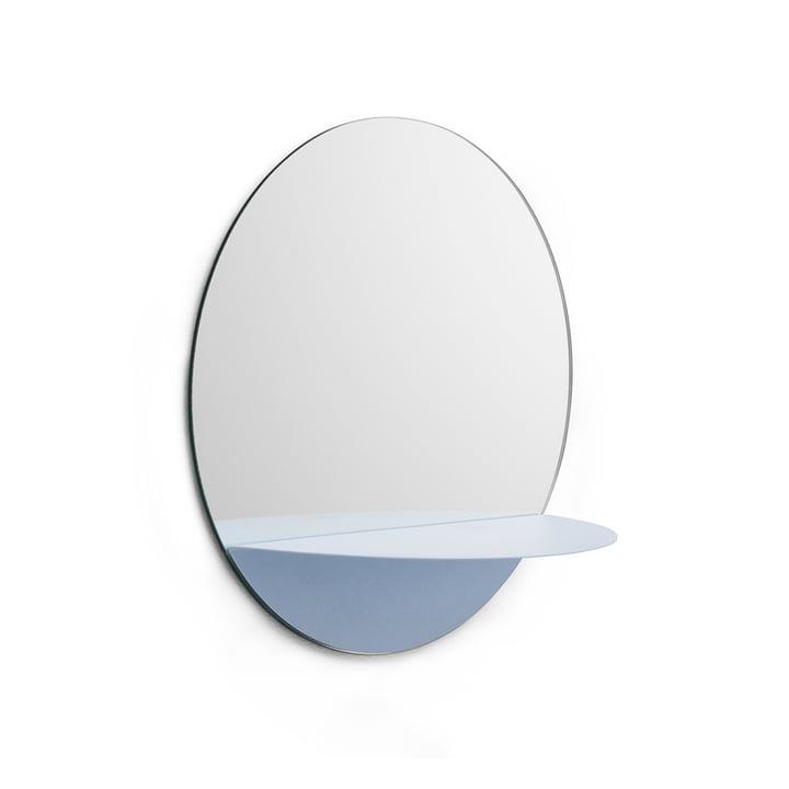 Normann Copenhagen - Horizon mirror, round, blue