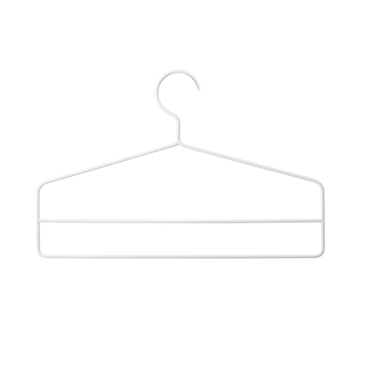 String - Clothes hanger, white (set of 4)