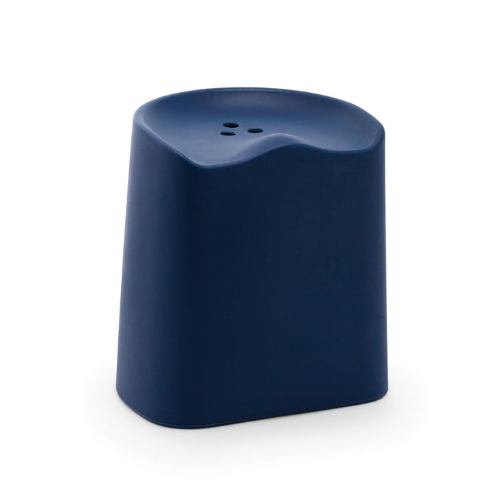 Established & Sons - Butt Stool, navy blue