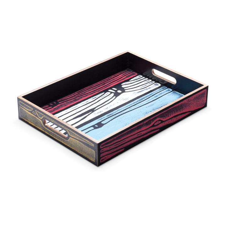 Established & Sons - Wrongwoods Tray, multicoloured