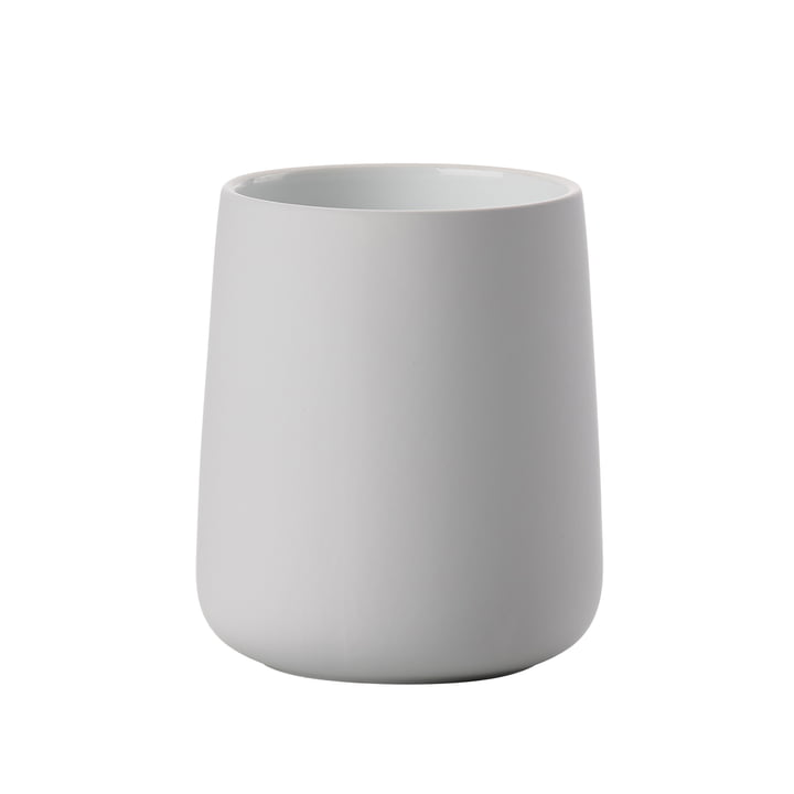 The Zone Denmark - Nova toothbrush tumbler in soft gray