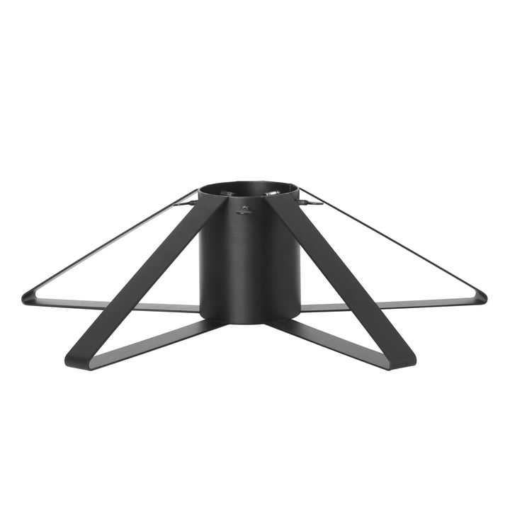 Christmas tree stand in black from ferm Living