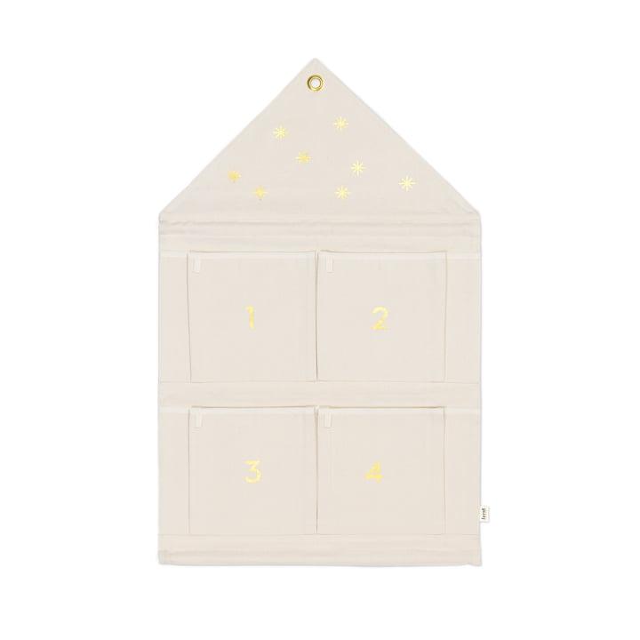 ferm Living - House Advent calendar, offwhite