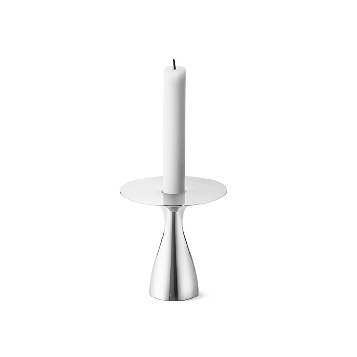 Alfredo Candleholder in stainless steel (set of 3) by George Jensen