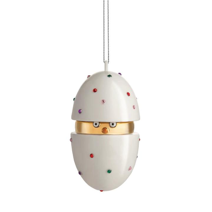 Alessi - Faberjori Deco Bauble Piacere, Pulcino il Grande (MJ16 1)