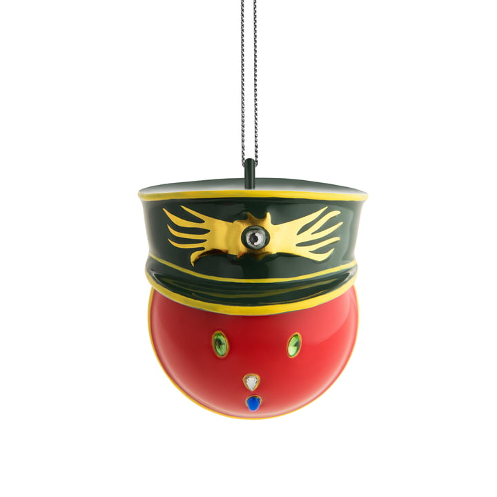 The Alessi - Faberjori Decorative Bauble, Generale Corallo (MJ16 2)