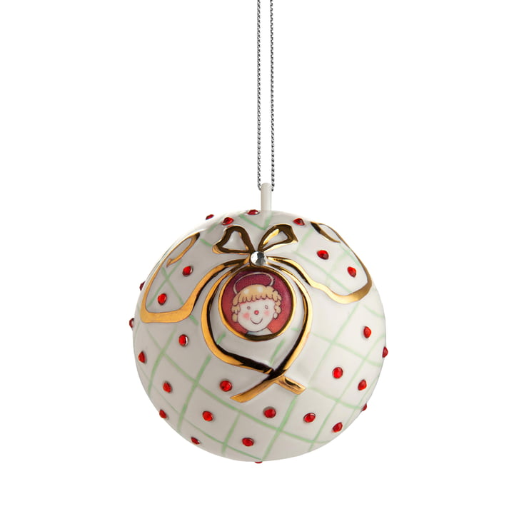 The Alessi - Fleurs de Jori deco ball, San Bambino (MJ16 6)
