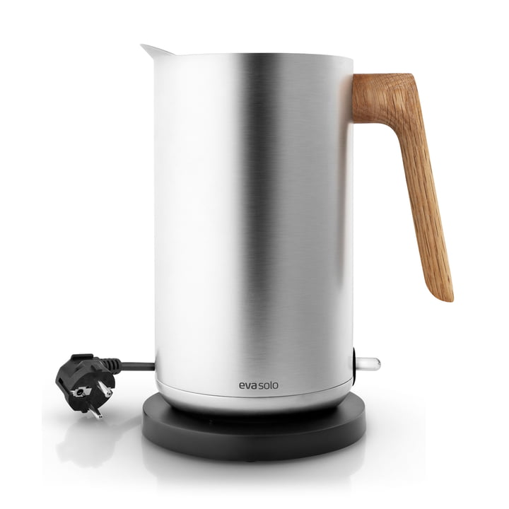 Nordic Kitchen Kettle from Eva Solo in stainless steel / oak