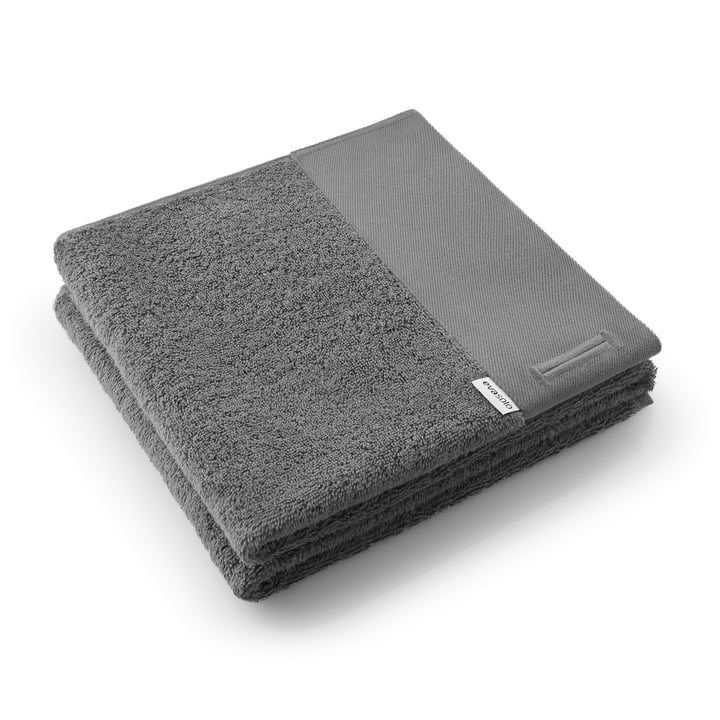 Eva Solo - Towel / Bath Towel, Dark Grey
