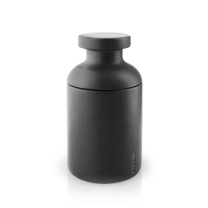 Container with Lid by Eva Solo in Matt Black