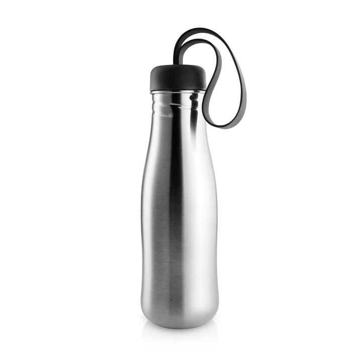 Active Drinking bottle 0,7 l from Eva Solo in stainless steel / black