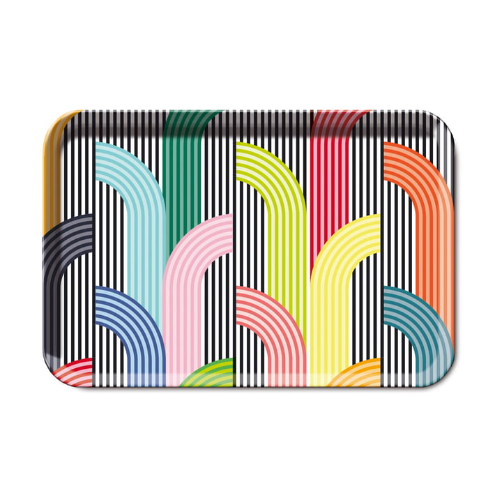 Remember - Memphis Melamine Tray, Large