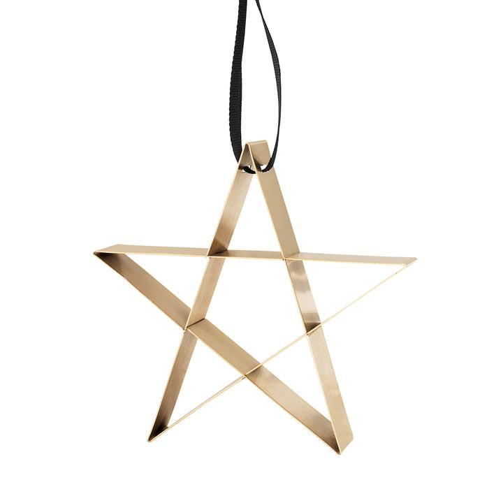 Stelton - Figura Ornament, Star, brass / large