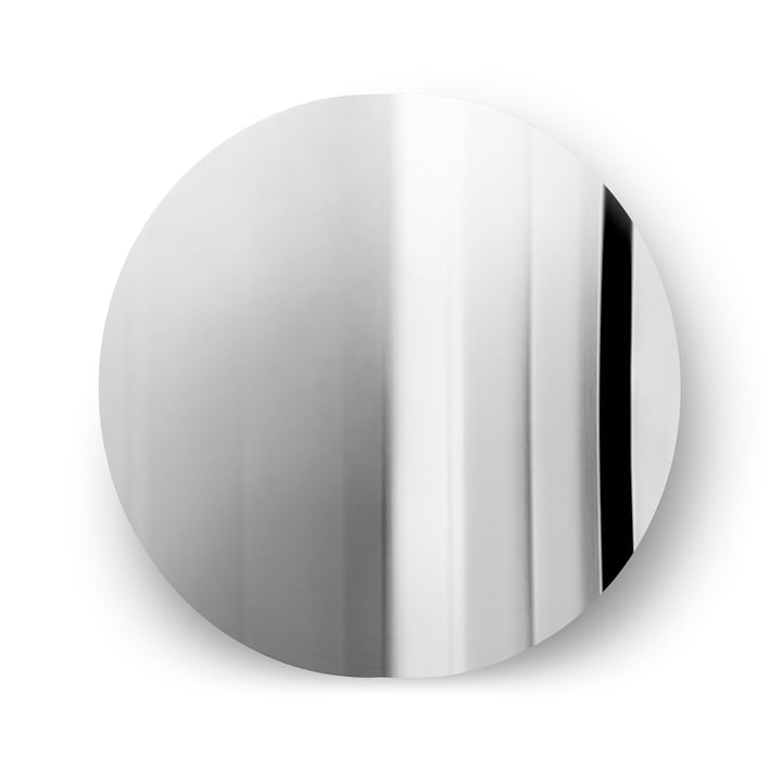 Mater - Imago Wall Mirror Ø 58 cm, stainless steel