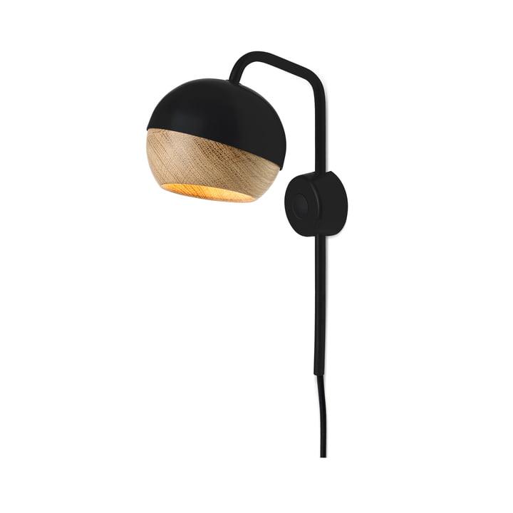 Mater - Ray Wall Lamp, black