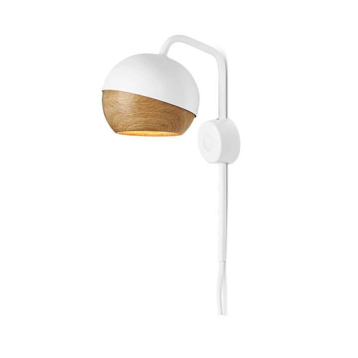 Mater - Ray Wall Lamp, white