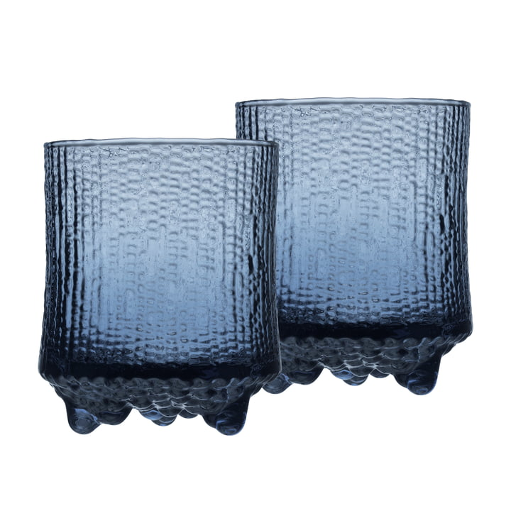 Ultima Thule water glass 20 cl (set of 2) from Iittala in rain