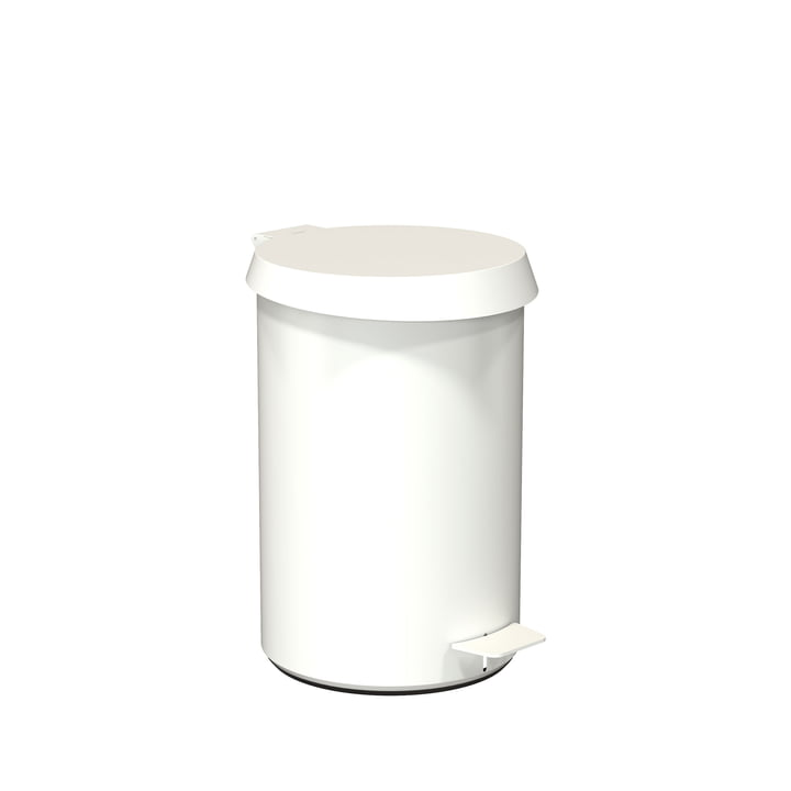 Pedal Bin 350 by Frost in White