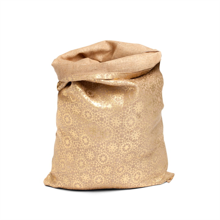 Christmas Bag, gold by Juna