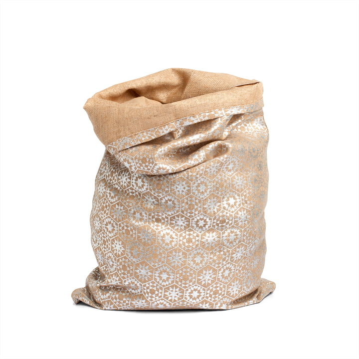 Christmas Bag, silver by Juna