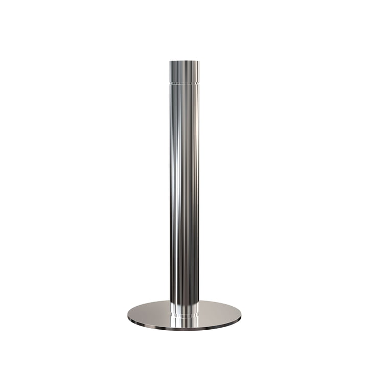 Kitchen Roll Holder H 27.5 cm in Polished Stainless Steel by Frost