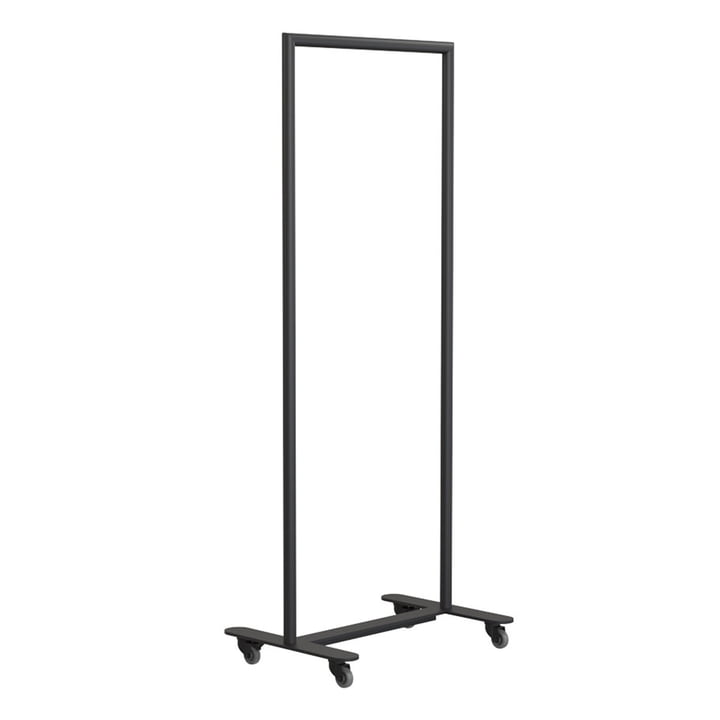 Bukto clothes rack with castors 60 cm from Frost in black