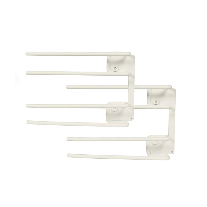 String - Hanger Rack module for wine glasses, 16 x 20 cm, white (set of 2)
