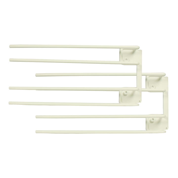 String - Hanger Rack module for wine glasses, 16 x 30 cm, white (set of 2)
