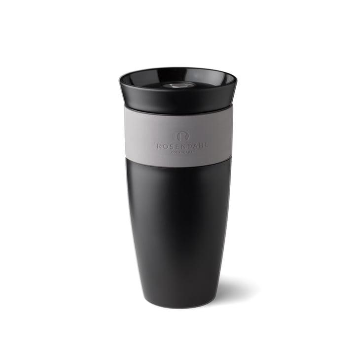 Grand Cru To Go Thermo Mug 28 cl by Rosendahl in Black / White